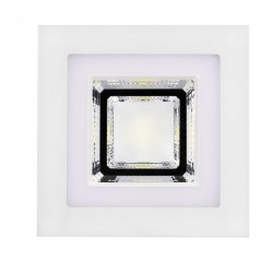 Combi LED Downlight – 6+6W – Square