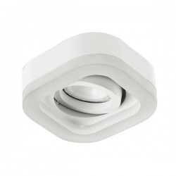 Fusion LED recessed light - white - warm light (2,4W)