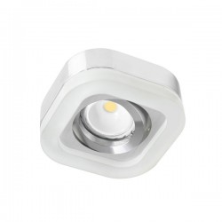Fusion LED recessed light - chrome - warm light (2,4W)