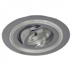 Aret Recessed LED Light - chrome - cold light (2,4W)