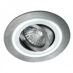 Aret Recessed LED Light - aluminium - warm light (2,4W)