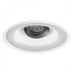 Jade recessed LED light - aluminium - cold light (3,36W)