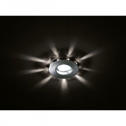 Romo Recessed LED Light – Chrome White LED