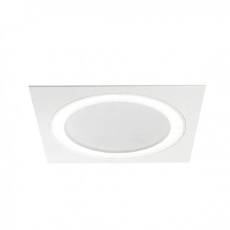 DOWNLIGHT LED 6,5W+25W ARET BLANCO CUADRADO