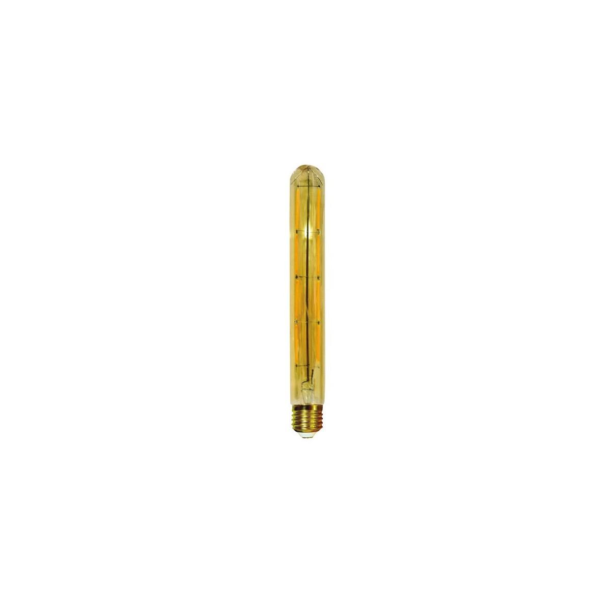 Bombilla Filamento LED T30 E27 6W Caramelo