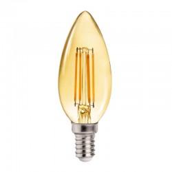 E14 C37 Candle Gold 4W