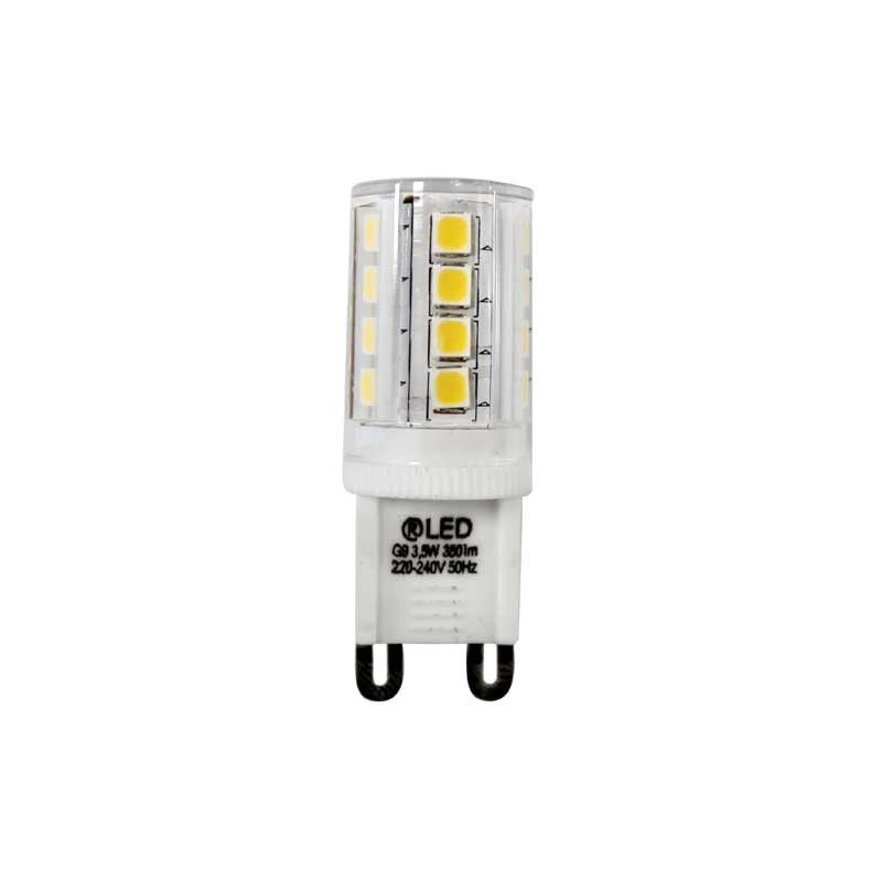 led bulb g9 3 5w 350lm 3000k cristalrecord led lighting. Black Bedroom Furniture Sets. Home Design Ideas