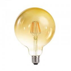 E27 G125 Globe Gold 6W