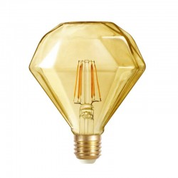 E27 D120 Diamond Gold 6W