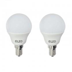 Pack of 2 E14 Bulb B45 5.2W...