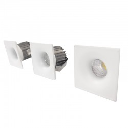 Pack of 3 LED Recessed...