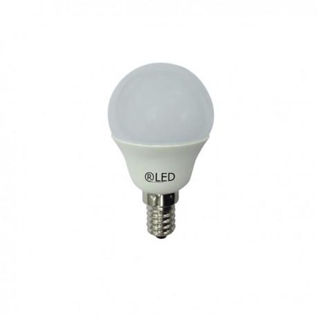 MINIESFERICA LED E14 6W (2700ºK)