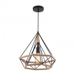 Rope Vintage Pendant Light