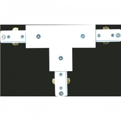 Len Triple Rail Connector – White