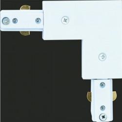 Conector Riel escuadra blanco Masta