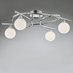 Lotto 4 Ceiling Light – Nickel