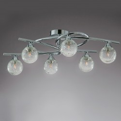 Lotto 6 Ceiling Light – Chrome