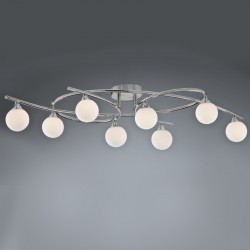 Lotto 8 Ceiling Light – Nickel