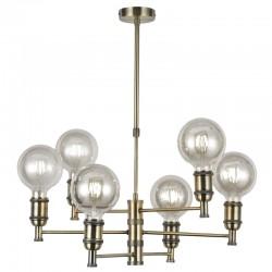 Miyako 6V Pendant Light – Antique Brass