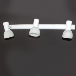 Vetro 3 Spotlight Ceiling Bar – White