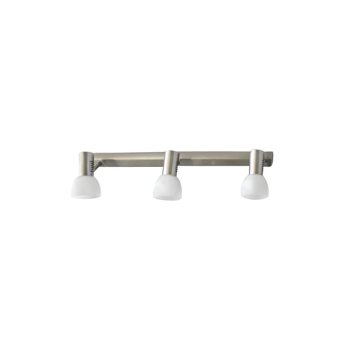 Vetro 3 Spotlight Ceiling Bar – Nickel