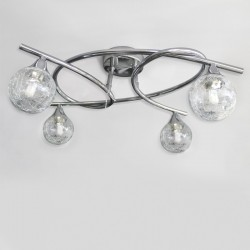 Lotto 4 Ceiling Light – Chrome
