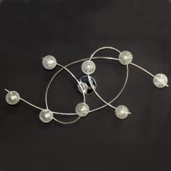 Lotto 8 Ceiling Light – Chrome