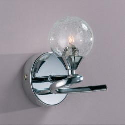 Lotto Wall Light – Chrome