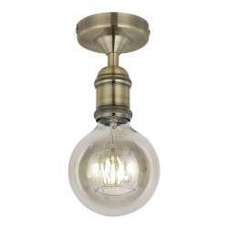 Calibri Ceiling Light – Antique Brass