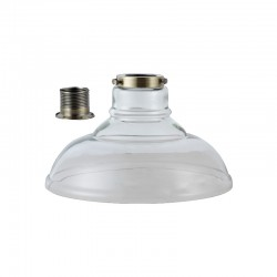 Cloche Glass Shade – Clear