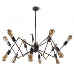 Lámpara de araña Atomic 12 brazos