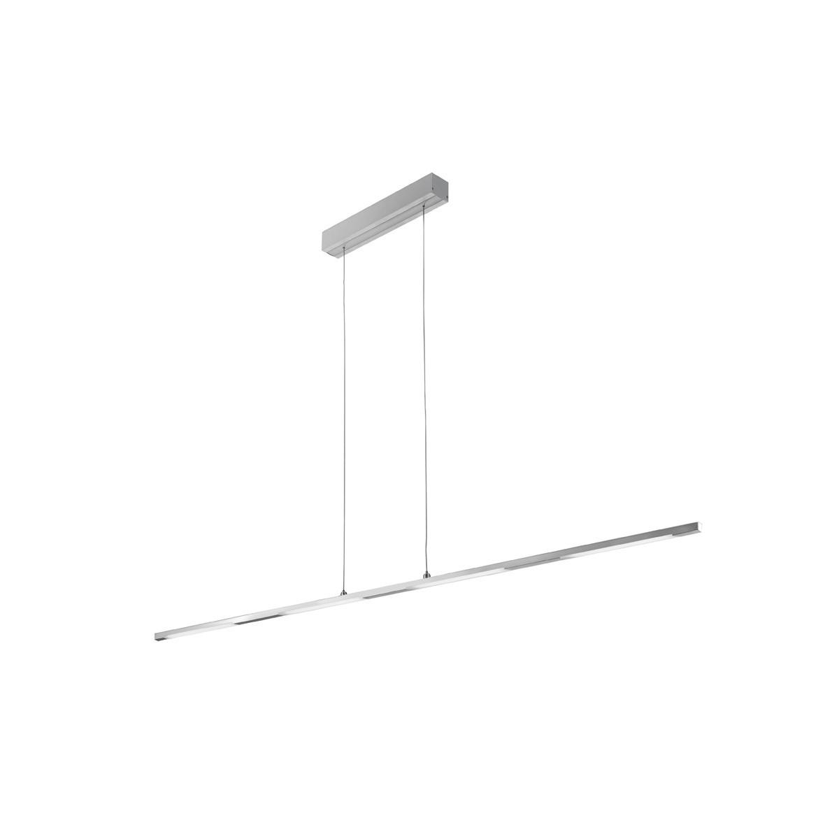 Lámpara de techo LED gris Tetra