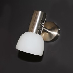 Vetro Wall Light – Nickel