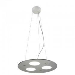 LÁMPARA LED MOON LUX PENDANT LIGHT NEGRO