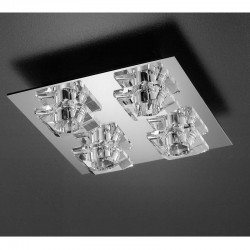 Diamant Perseo 4 Ceiling Light