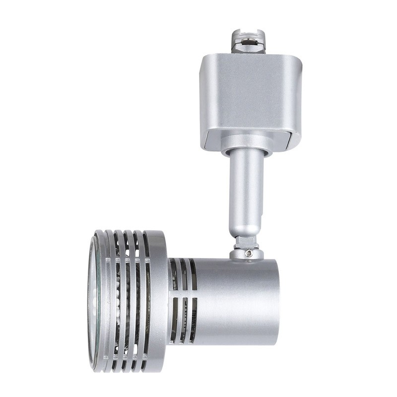 Foco orientable de aluminio masta para bombilla gu10 para ra l for Bombillas led para focos exterior