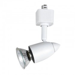 Len Adjustable Spotlight For Rail – White