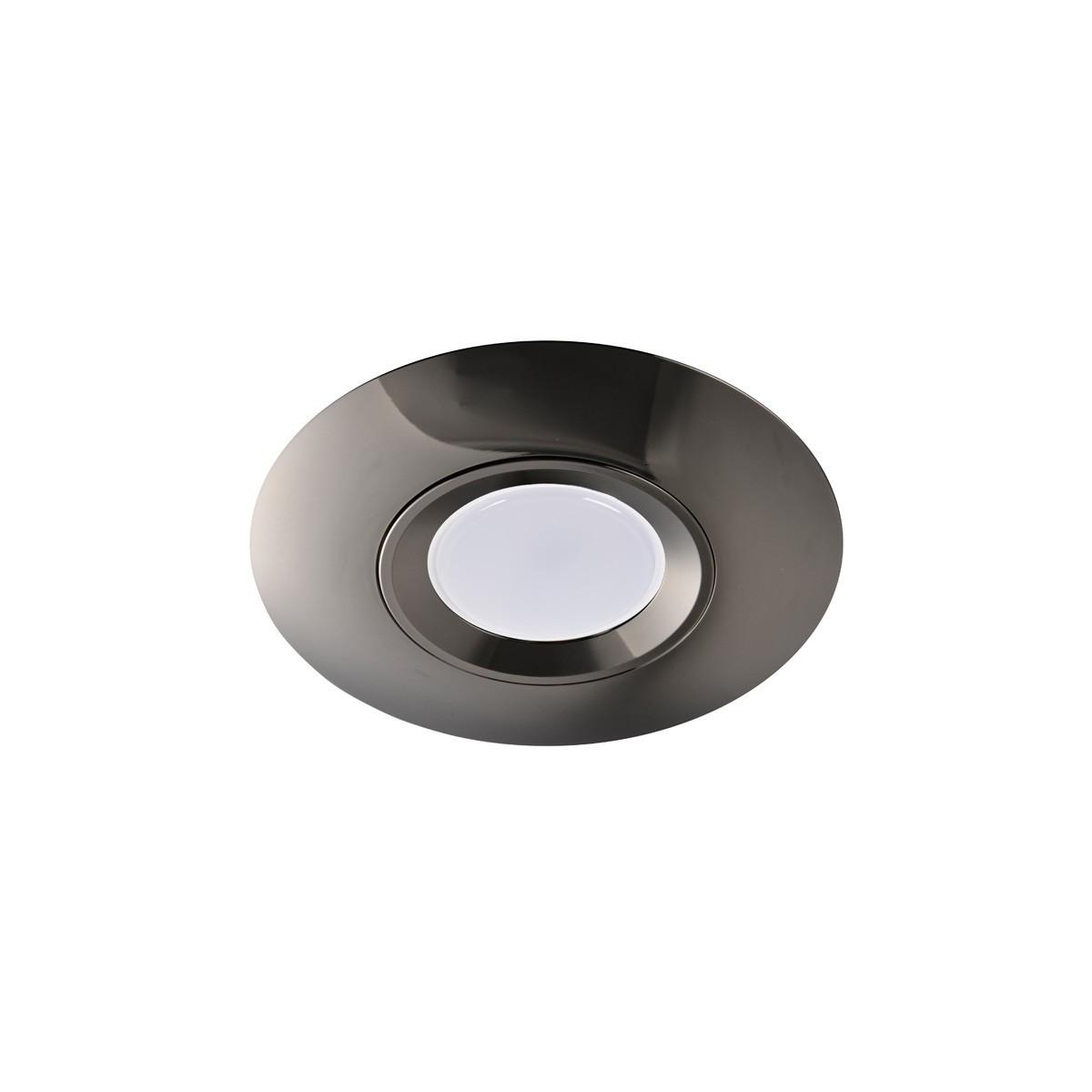 Empotrable Seron cromo plata