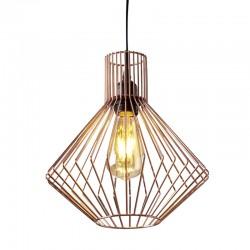 Lámpara Jaula cobre Mistral
