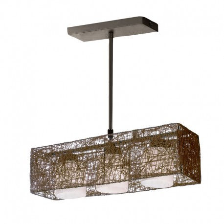 Alexandra Pendant Light – Wenge – Rectangular 3