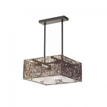 Alexandra Pendant Light – Wenge – Square