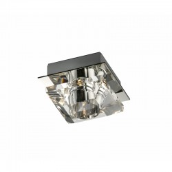 LUMINARIA DE SUPERFICIE 70mm DIAMANT PERSEO CROMO