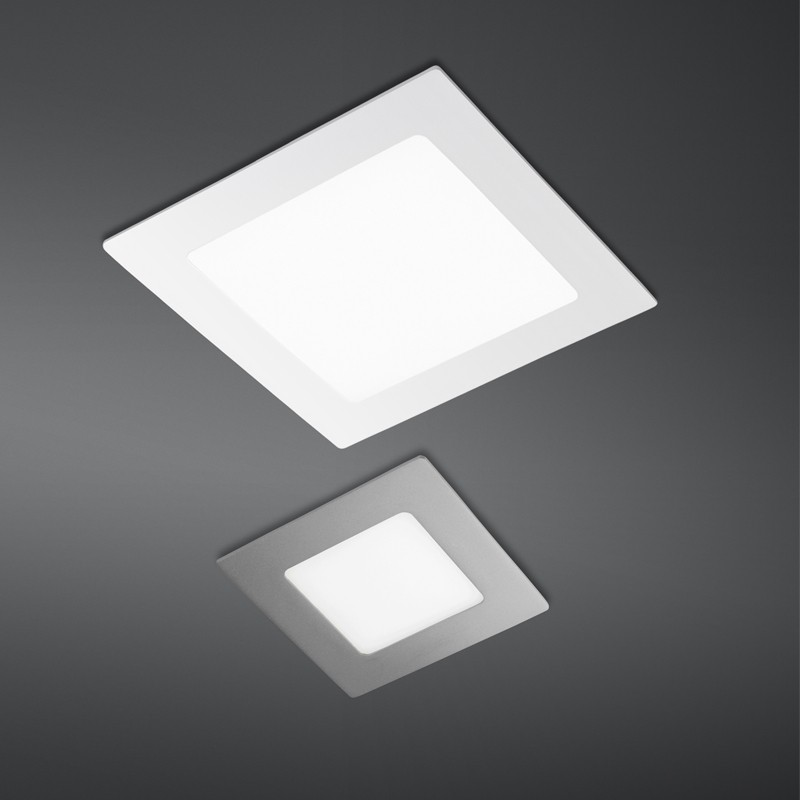 Novo Plus Led Downlight Sq 6w White Cristalrecord