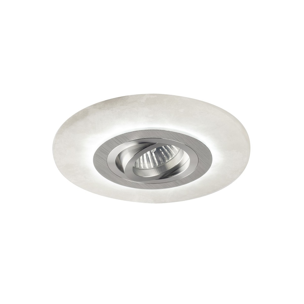Empotrable led Alabaster aluminio (2,4W)
