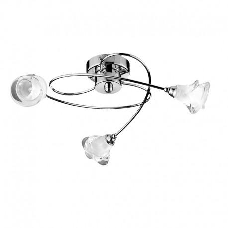 Lis 3 arm ceiling light nickel cristalrecord led lighting lis 3 arm ceiling light nickel aloadofball Choice Image