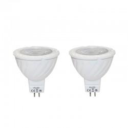 Pack bombillas LED MR16 7W 3000K