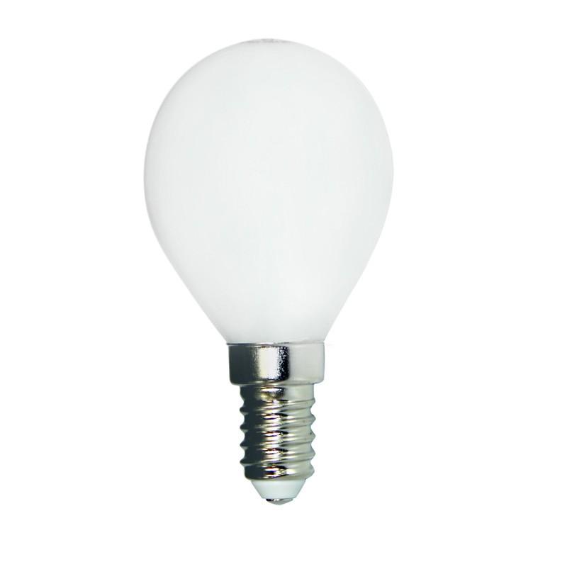 Bombilla led e14 milky 4 5w 3000k cristalrecord - Bombilla led 5w ...