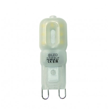 Bombila LED mini G9 2.5W regulable 3000K