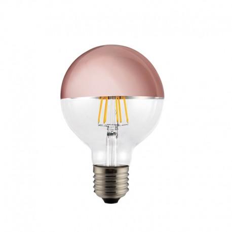 Bombilla LED Half Mirror G95 bronce 6w