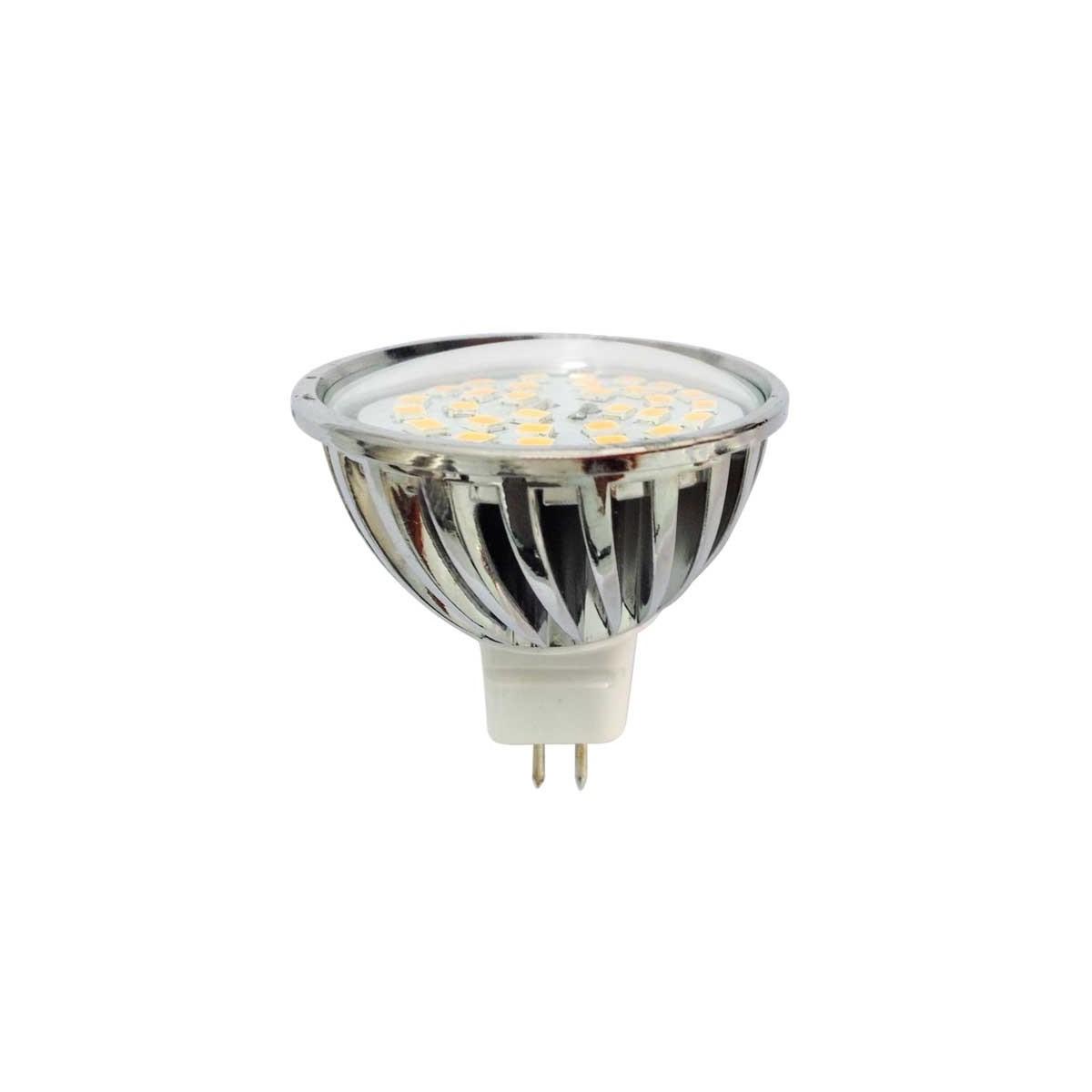 Bombilla LED MR16, 7 W, 4200 K, 520 Lm.